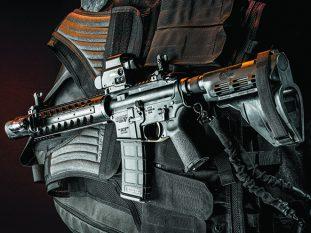 rebuilt AR pistol