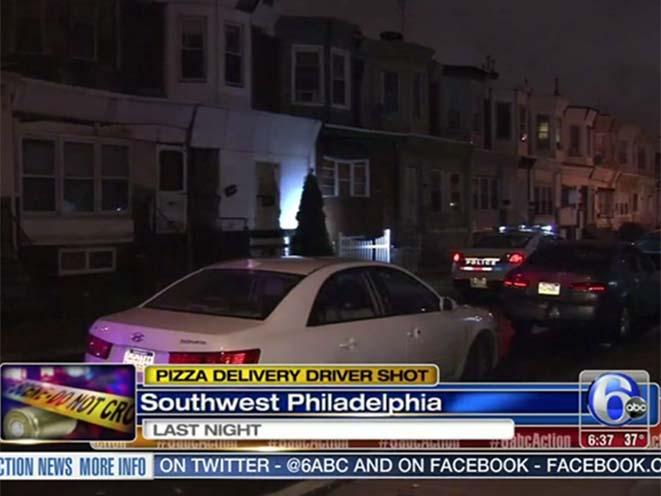 pizza delivery driver shot philadelphia