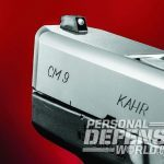 Kahr CM9 concealed carry pistol