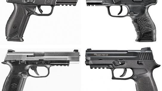 new full-sized handguns