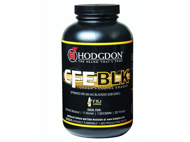 Hodgdon CFE BLK Powder shooting gear