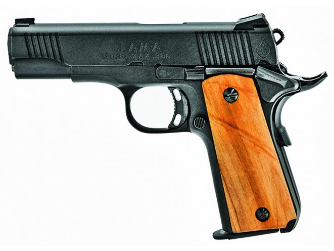 llama full-sized handguns