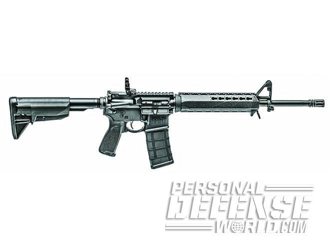 springfield saint AR rifle