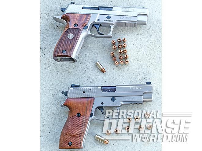 40 vs 9mm ammo