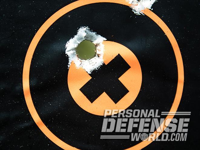 9mm vs 40 s&w vs 45 acp target