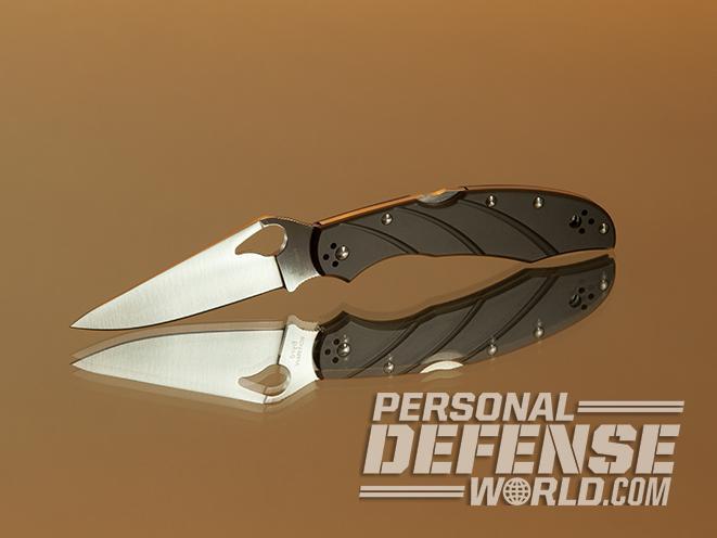 spyderco folding knives