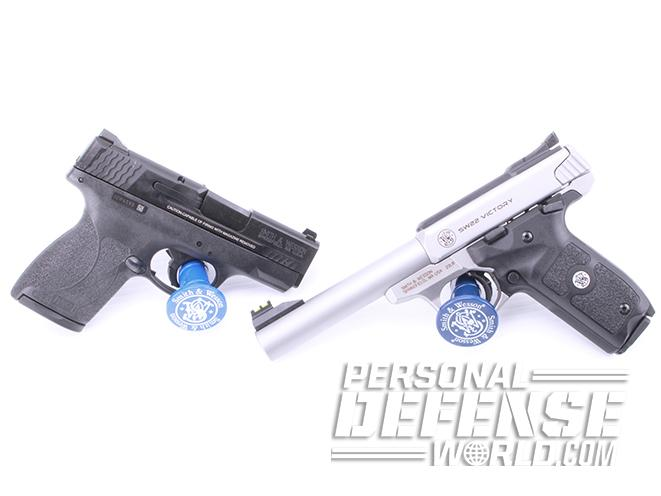 SW22 Victory and s&w m&p45 shield