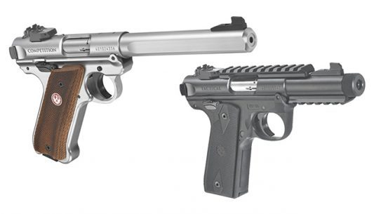 new ruger mark iv pistols
