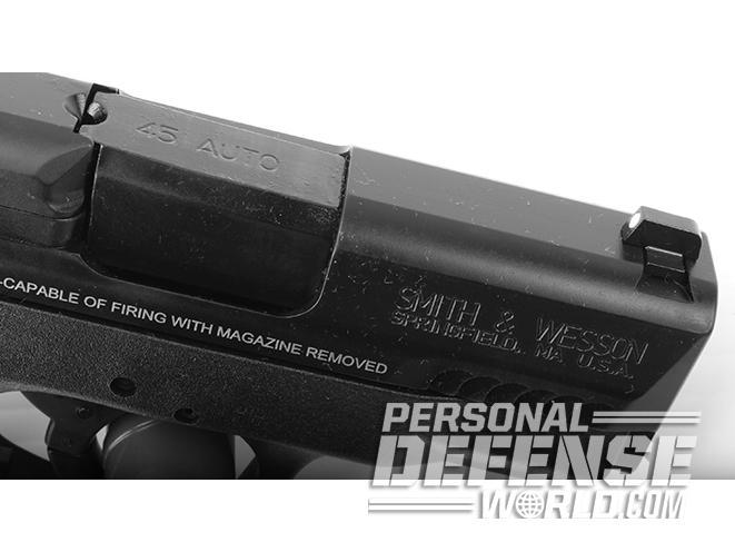 s&w m&p45 pistol