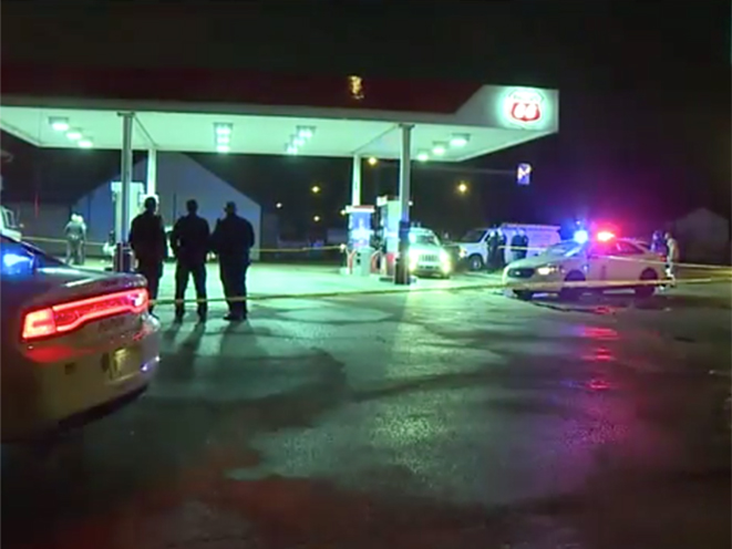 indianapolis armed robber shooting