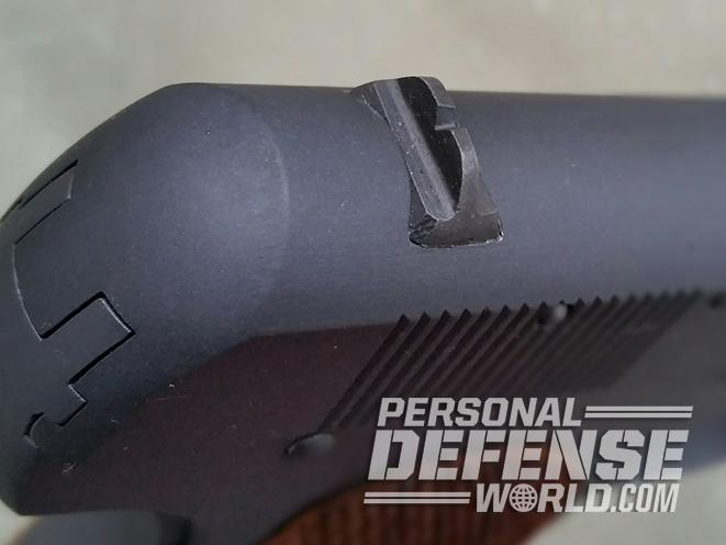 Model 1903 Pocket Hammerless rear sight