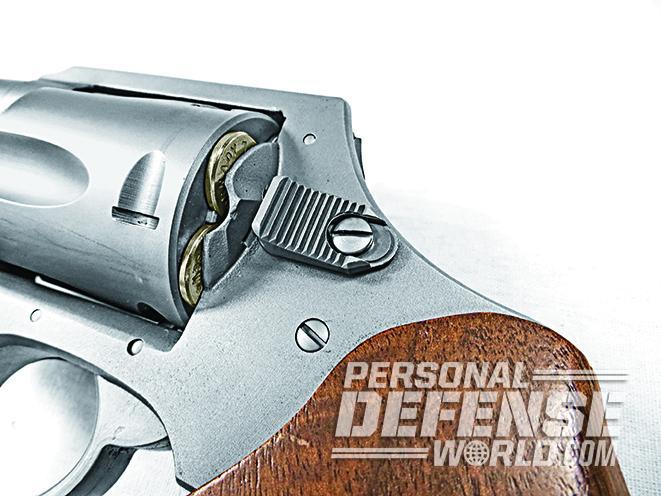 Charter Arms Boomer snub-nose revolver