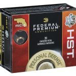 federal micro hst new ammo