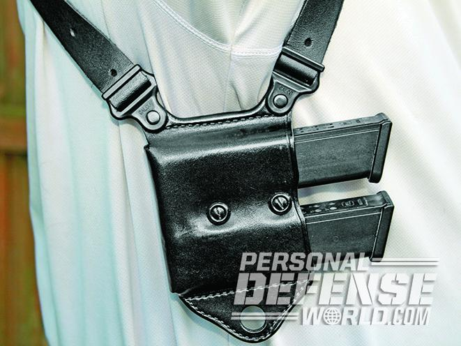 shoulder holsters draw