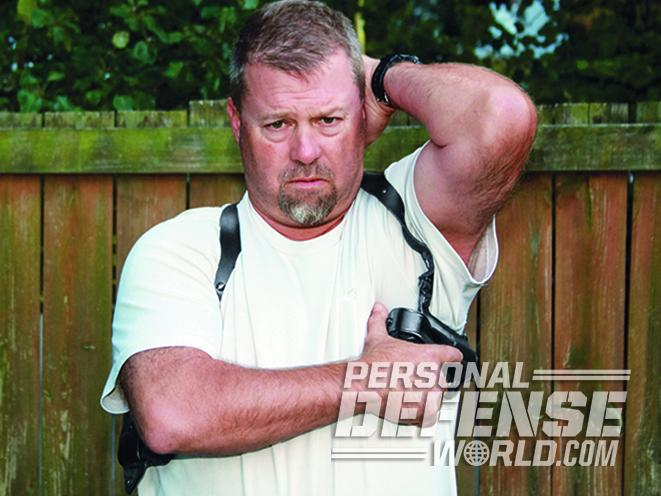 shoulder holsters carry tips