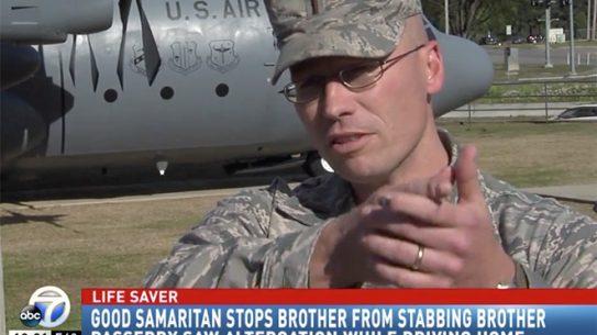 air force lieutenant arkansas stabbing