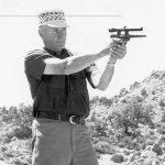 Jeff Cooper pistol shot