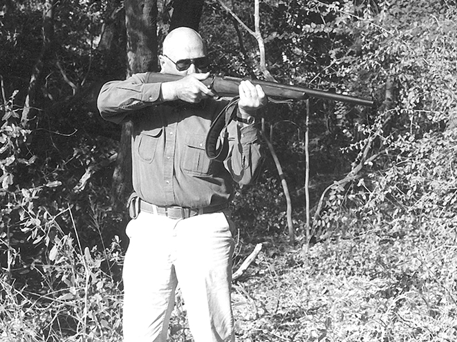 Jeff Cooper rifle shot