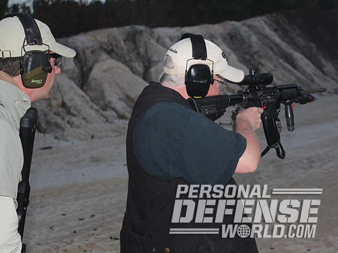 active shooters rifle test