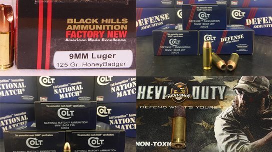 new ammo loads for 2017