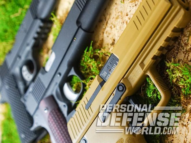 45 acp pistol ballistics