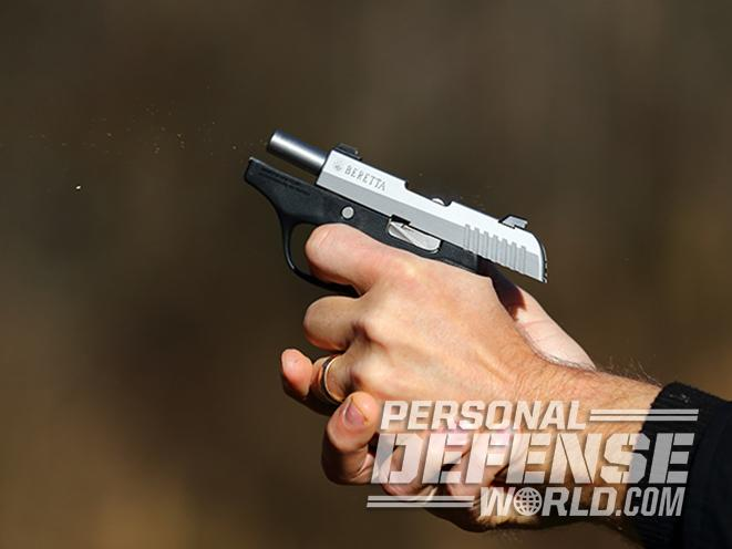 ruger lcp ii and beretta pico pistol fire