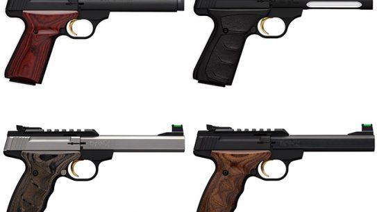 new Browning Buck Mark Pistols