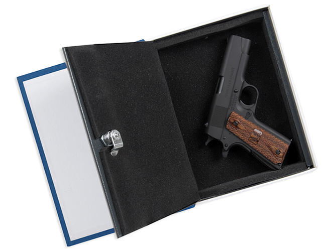 Bulldog Deluxe Diversion Book Vault gun safes