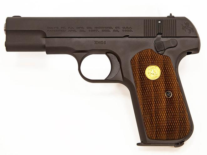Colt Model 1903 Pocket Hammerless mouse guns