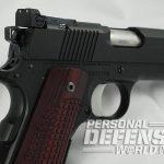 Dan Wesson Bruin 45 acp pistol rear sight