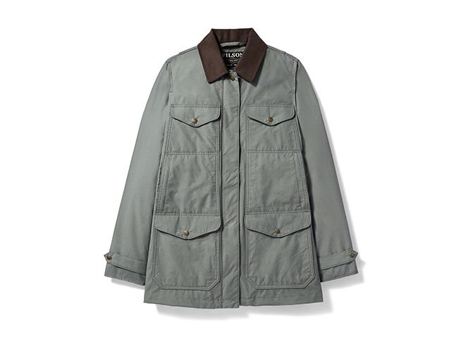 Filson Explorer jacket shooting gear