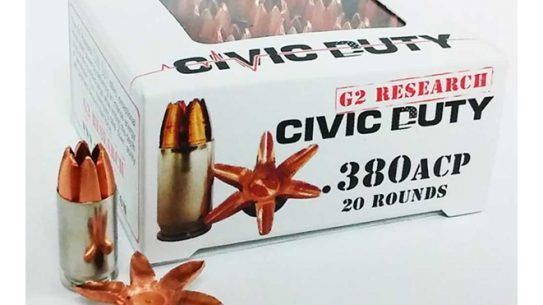 G2 Research civic duty .380 ACP