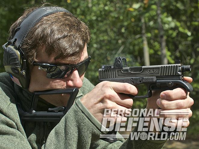glock 17 carbine test fire