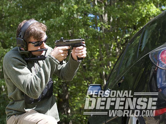 glock 17 carbine range test