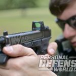 glock 17 carbine aiming