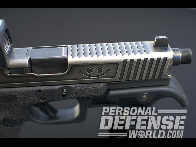 glock 17 carbine slide top