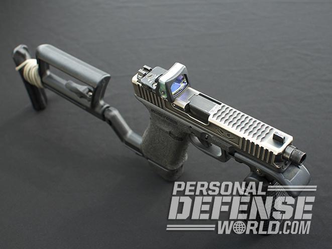 glock 17 carbine slide