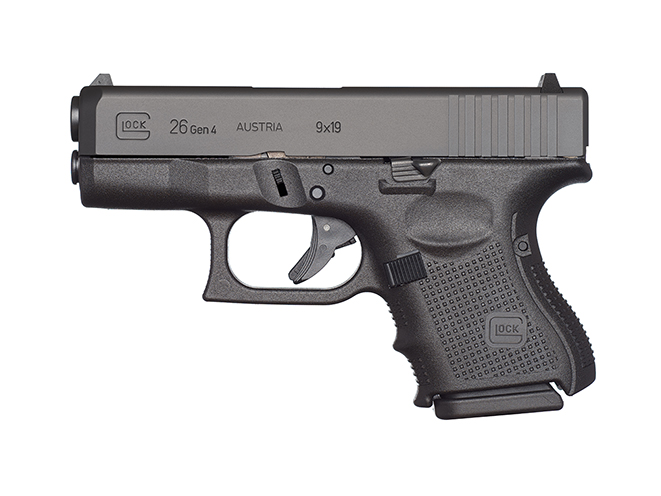 Glock 26 Gen4 pistol