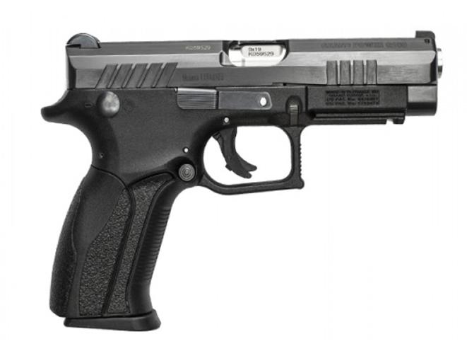 Grand Power Q100 pistol right side