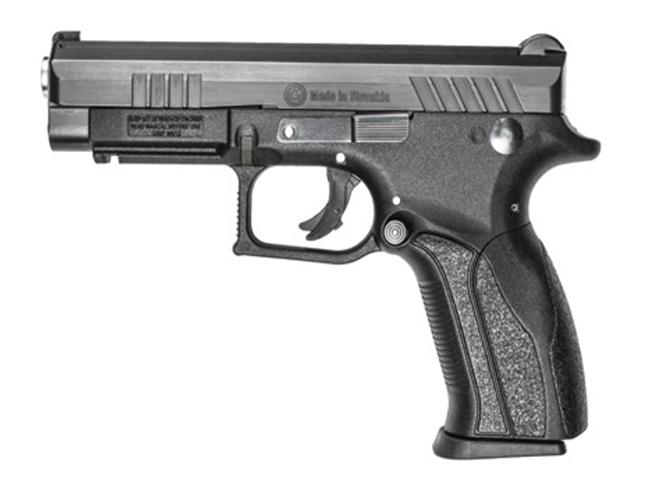 Grand Power Q100 pistol left side