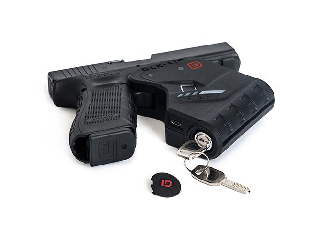 Identilock gun safes