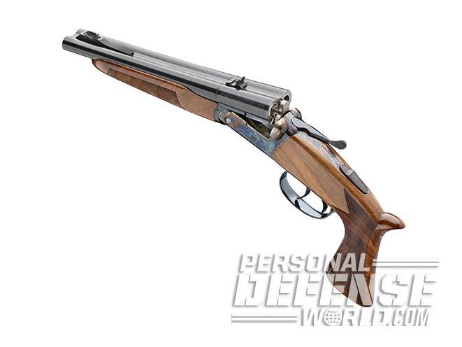 Pedersoli Howdah pistol open