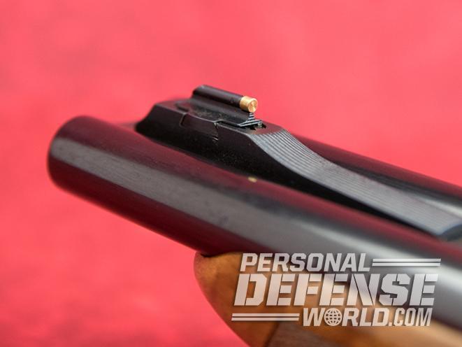 Pedersoli Howdah pistol front sight