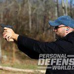 Ruger LCP II pistol gun fire