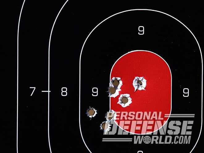 Ruger LCP II pistol target