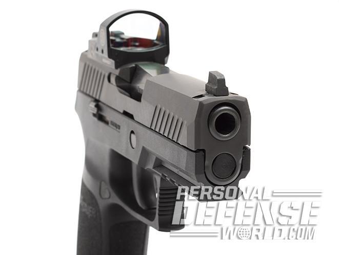 Sig Sauer P320 RX Compact pistol muzzle