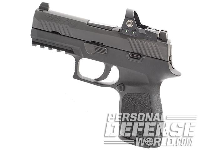 Sig Sauer P320 RX Compact pistol profile