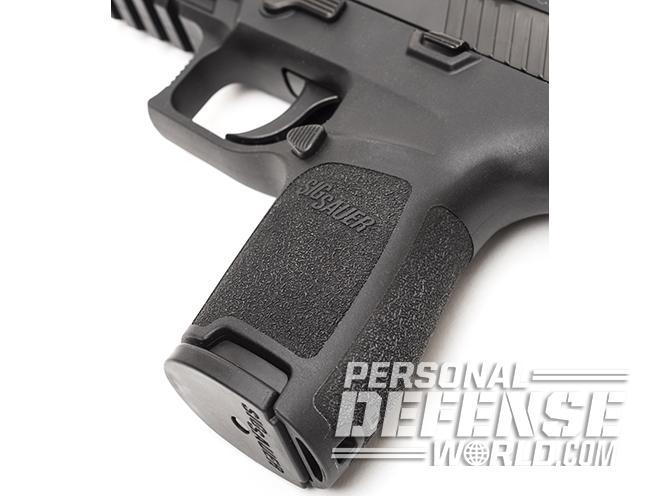 Sig Sauer P320 RX Compact pistol grip