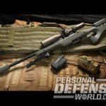 SilencerCo Hybrid suppressor for bolt-action rifles