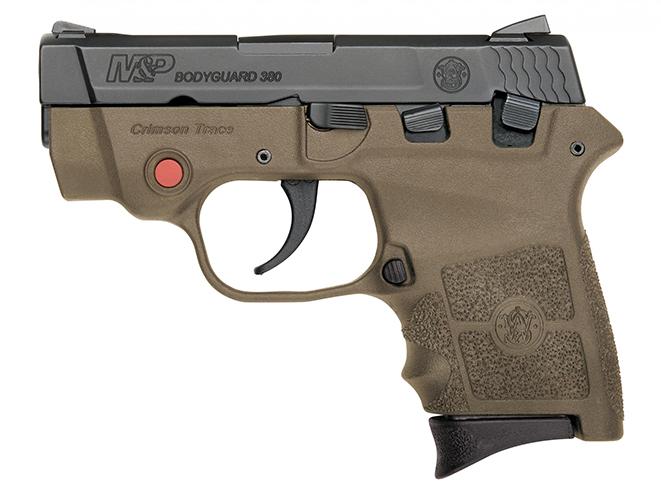 Smith & Wesson M&P Bodyguard 380 FDE everyday carry handguns